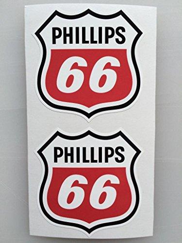 2 Phillips 66 Die Cut Decals By Sbd Decals