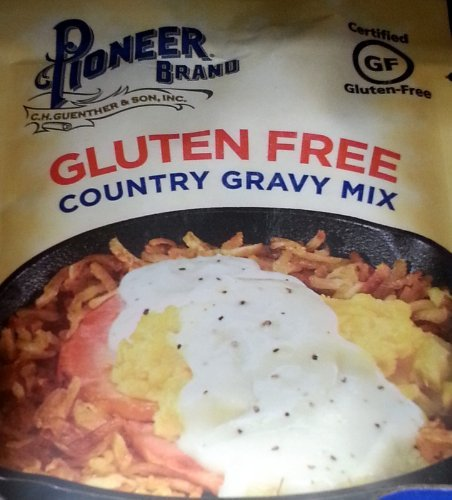 Price comparison product image Pioneer Brand Gluten Free Country Gravy Mix 2.75 Oz (Pack of 6)