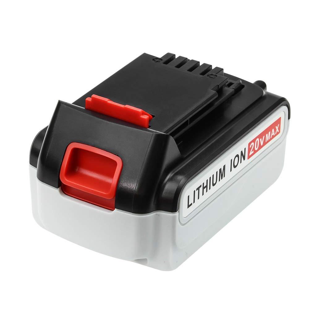2 Pack 4000mAh Replace for Black and Decker 20V Battery Max LBXR20 LB20 LBX20 LST220 LBXR2020-OPE LBXR20B-2 LB2X4020 Power Tools by Boetpcr (Image #2)