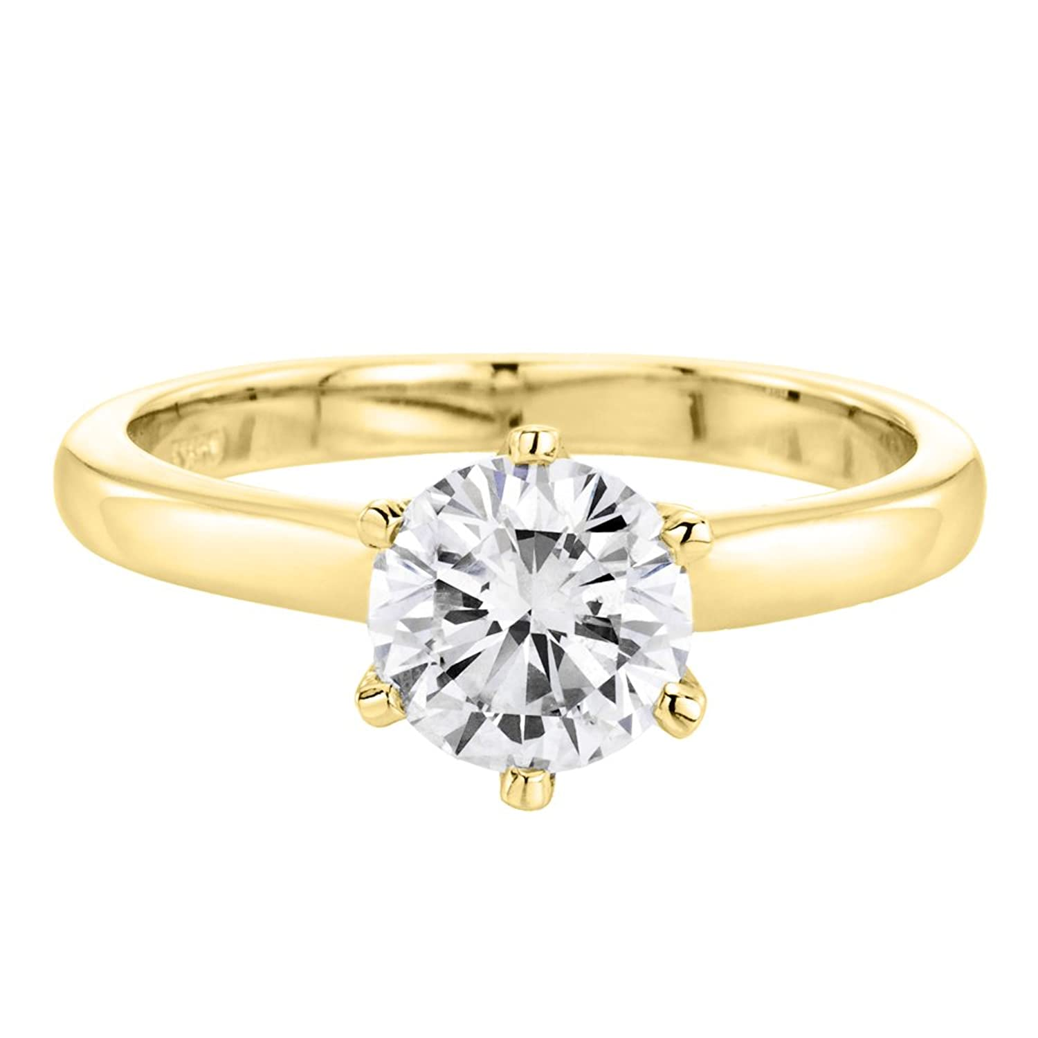 round vs rings yellow diamond h milgrain vintage engagement ring gold wedding g in