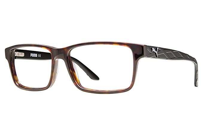 7abfedcad55 Amazon.com  Puma PU0026O Mens Eyeglass Frames - Black  Sports   Outdoors
