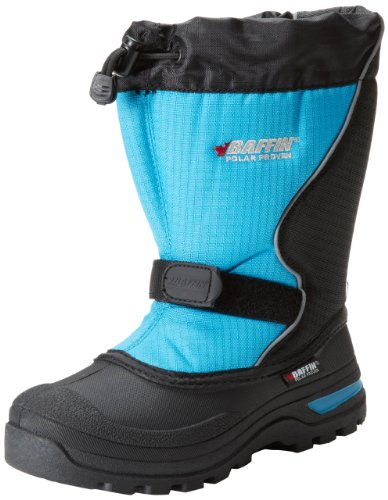 r Lighted Insulated Boot (Toddler/Little Kid),Black/Electric Blue,8 M US Big Kid (Mustang Insulated Boot)