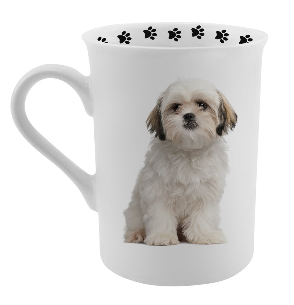 amazon com dimension 9 shih tzu coffee mug white kitchen u0026 dining