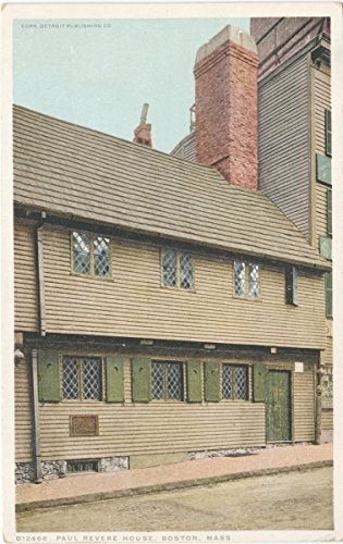 Best buy Vintage Postcard Print | Paul Revere House, Boston, Mass., 1908 | Historical Antique