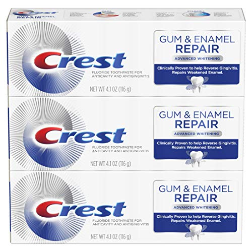 Crest Gum & Enamel Repair Toothpaste Advanced Whitening, 4.1oz Triple Pack from Crest