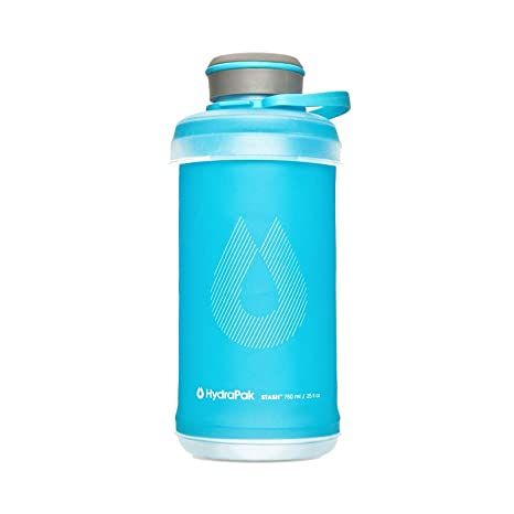 a81c7a6606 Amazon.com : Hydrapak Stash 750 Flexible Water Bottle, Malibu Blue ...