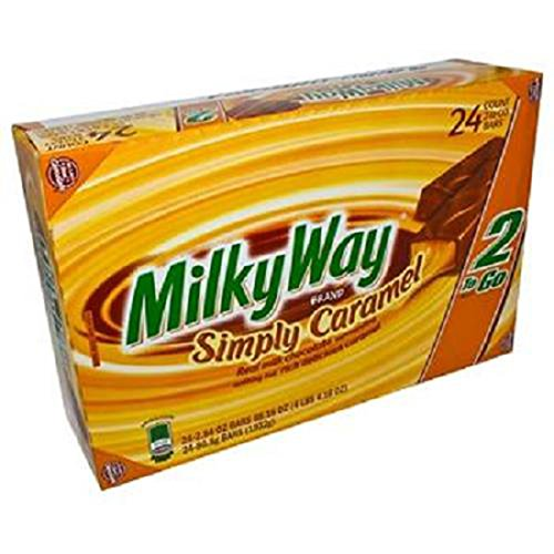 (Product Of Milky Way, King Size Simply Caramel Chocolate, Count 24 (2.84 oz) - Chocolate Candy / Grab Varieties & Flavors)