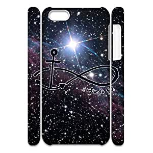 Diy Infinity Anchor Phone Case for iphone 5c 3D Shell Phone JFLIFE(TM) [Pattern-1]