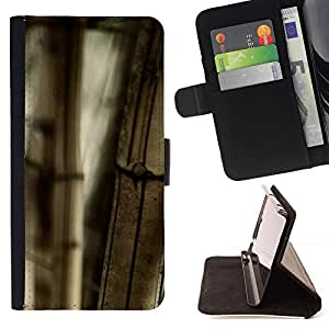 Momo Phone Case / Flip Funda de Cuero Case Cover - Planta Naturaleza Forrest Flor 101 - Samsung Galaxy Note 5 5th N9200