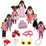 American Girl Doll Clothes Accessories for 14inch 14.5 inch Wellie Wishers Willa Dolls