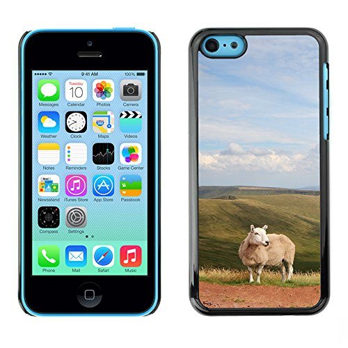 Premio Sottile Slim Cassa Custodia Case Cover Shell // F00007639 mouton // Apple iPhone 5C