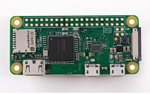 Raspberry Pi® Zero-W w/o GPIO Zero W 512 MB 1 x 1.0GHz