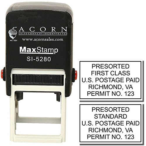 Self Inking Bulk Rate Mail Stamp by Acorn Sales Co