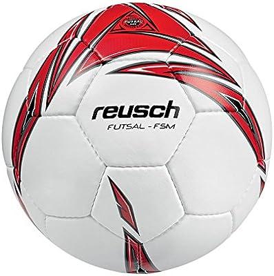Reusch fútbol Reusch Futsal-FSM balón de fútbol Sala, Color Blanco ...