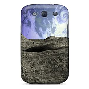 Awesome WGP5314CfNu Randapy4x65 Defender Tpu Hard Cases Covers For Galaxy S3- 3d Luna