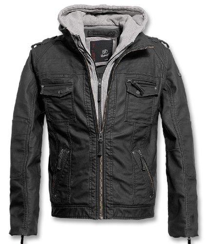 Brandit BLACK ROCK Jacke Grau M