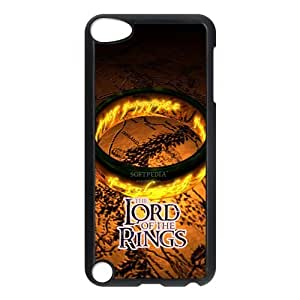 Custom The Lord of the Rings black plastic Case for IPod Touch 5th at jany store123 store