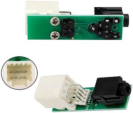 Auxiliary Aux Stereo Adaptor for 86190-02010 Toyota Corolla Tacoma Tundra RAV4