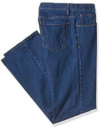 Men's Big and Tall Active-Flex Medium Stonewash Stretch-Denim Jean