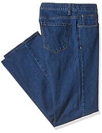 Savane Men's Big and Tall Active-Flex Medium Stonewash Stretch-Denim Jean