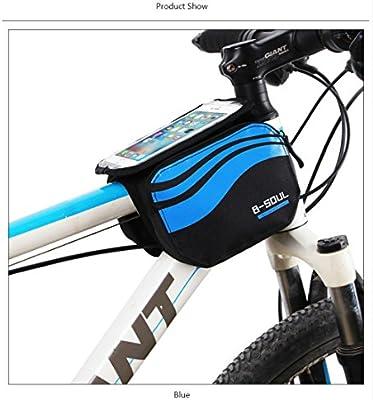 PENVEAT Accesorios de Bicicleta Bici Táctil Frontal Protector ...