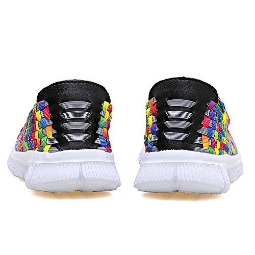 para Mujer AIRAVATA Zapatillas Multicolor SH075 SwWA8Oq