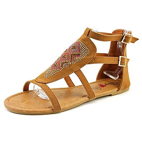Penny Loves Kenny Ankle Strap Heels (Penny Loves Kenny Women's Sioux Flat Sandal, Cognac, 6.5 M US)