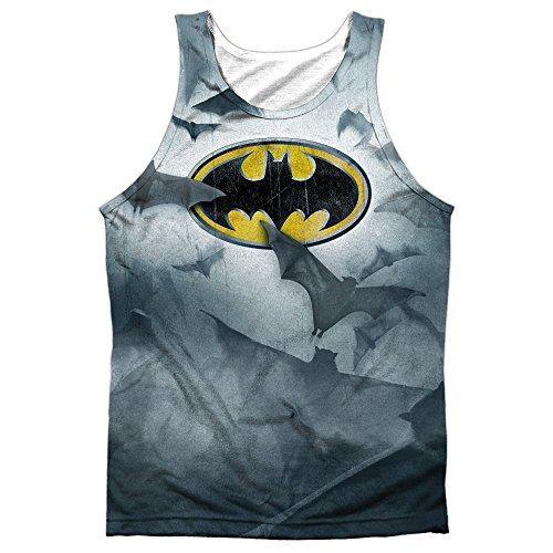 Batman+tank+top Products : Batman Bat'S Logo Mens Sublimation Tank Top Shirt