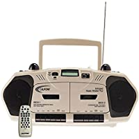 Califone 2395IR Music Maker Plus Multimedia Player, Dual Infrared Transmitters for Wireless Listening
