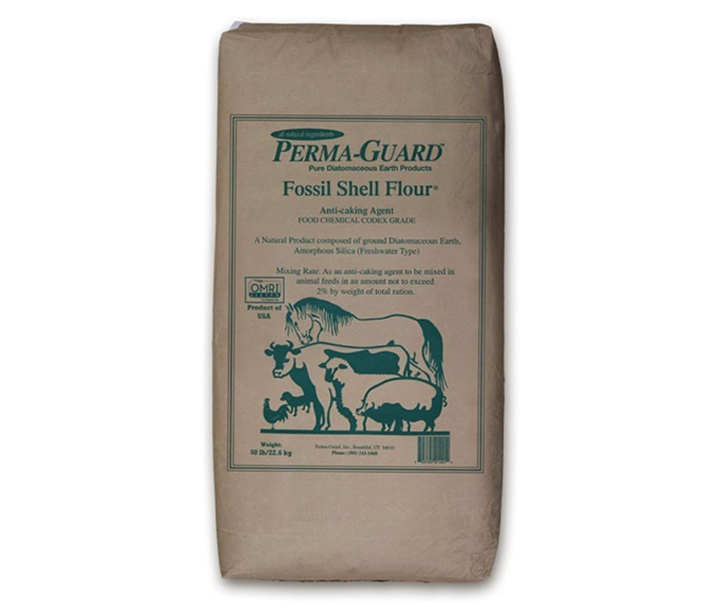 Permaguard Fresh Water Food Grade Diatomaceous Earth, 50-Pound, White by St Gabriel - Poultry