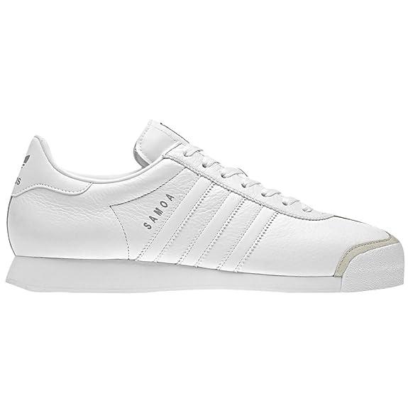 adidas samoa white/white/silver スニーカー 白