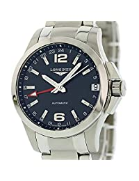 Longines Conquest Automatic-self-Wind Male Watch L3.687.4.56.6 (Certified Pre-Owned)