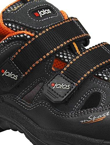 Ejendals 3400A-44sicurezza JALAS 3400a Monza Sport, taglia 44, colore nero/arancione