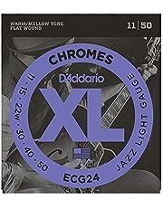 Daddario Ecg24 Elektro Gitar Teli, Chromes, 11-50, Jazz Light Gau