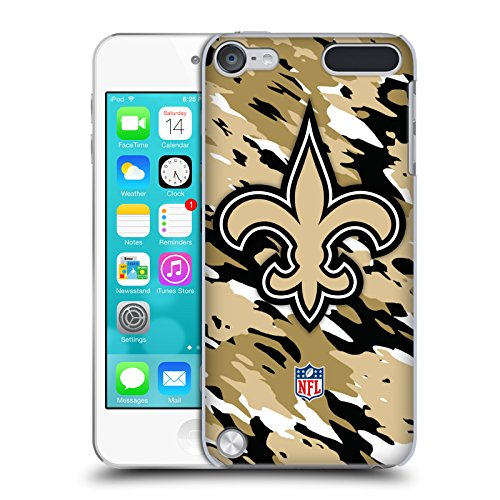 Official NFL Camou New Orleans Saints Logo Hard Back Case for iPod Touch 5th Gen / 6th - New Place Port Of Orleans