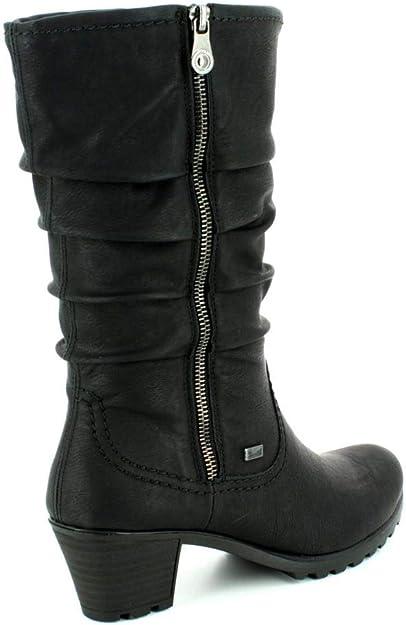 Rieker Y8039 00 Größe 40 Schwarz (schwarz):