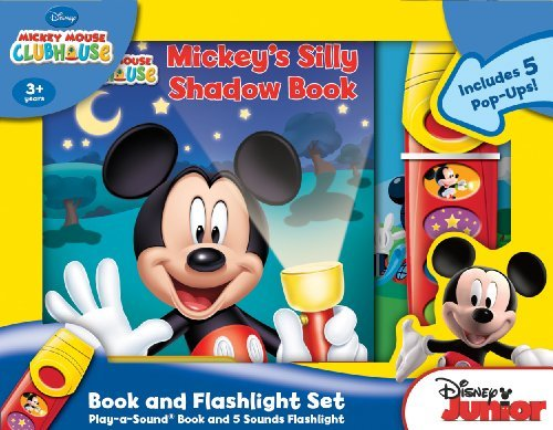 Download Mickey's Silly Shadow Book Pop-Up Book and Flashlight Set (Brdbk) [Board book] pdf