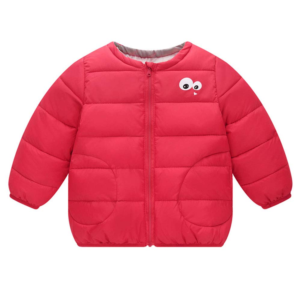 M&A Little Girls Lightweight Puffer Jacket Winter Coat Outerwear