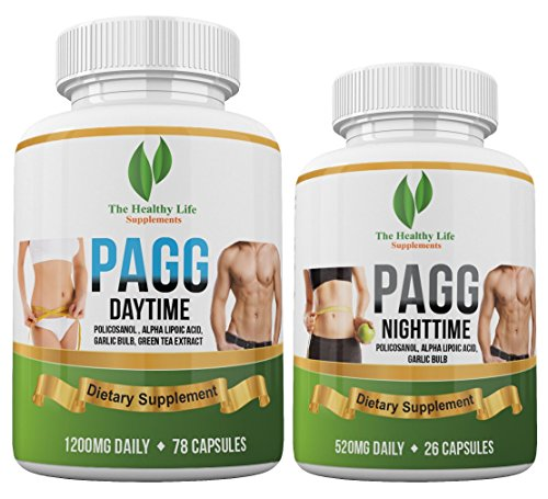 Ultimate PAGG Stack Formula - Blend of 8 Potent Dietary Supplements - Helps to Build Muscle and Increase Weight Loss