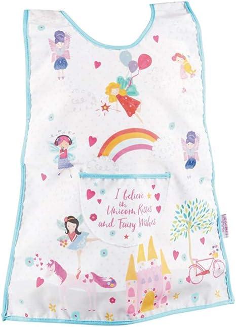 Toddler Baby Children Long Sleeve Waterproof Craft Paint Smock Bib Apron Tabbard