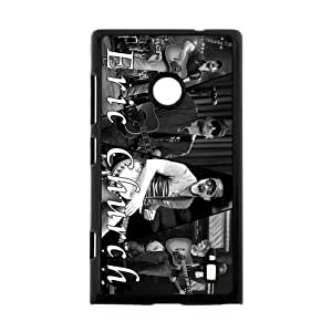 Custom Popualr Country Singer Eric Church Printed Hard Plastic Back Protective Case for Nokia Lumia 520 FC-1