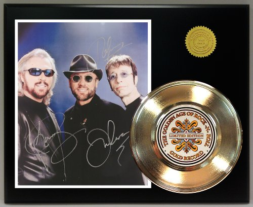 Bee Gees Gold Record Reproduction Signature Series LTD Edition Display from Gold Record Outlet