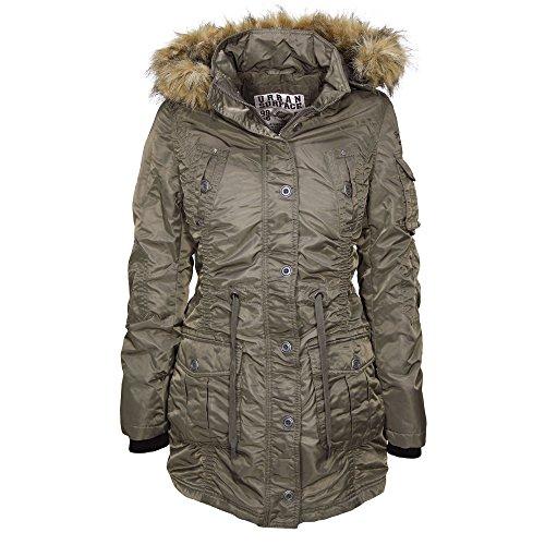 Urban Surface mujer chaqueta de invierno para mujer everglade green(14-01211al)