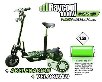Patinete Raycool Nitro 1000W LedÂŽs New 2012: Amazon.es ...