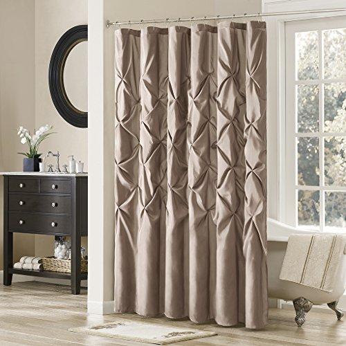 Madison Park Transitional Curtains Bathroom