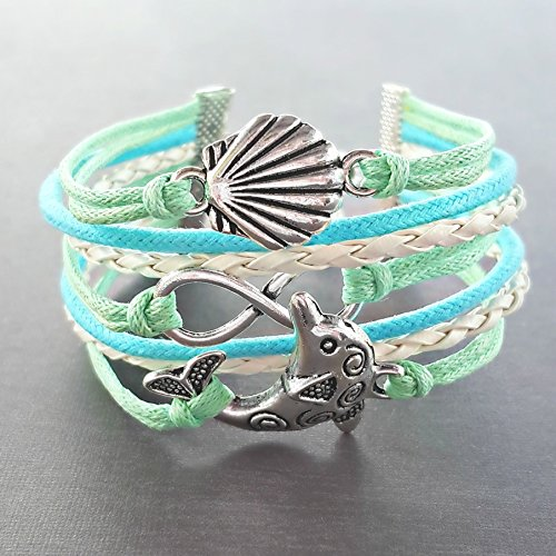 inity Bracelet, Adjustable, Other Sizes/Colors Available Upon Request (Animal Dolphins Bracelet)