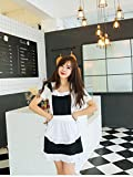 Love Potato Cute Sweet Retro Frilly Aprons for Girl