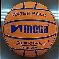 Pallone da pallanuoto Mega. Arancione. Misura 4, per competizioni junior e femminili.