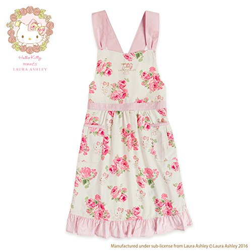 Sanrio Hello Kitty apron Hello Kitty meets LAURA ASHLEY From Japan New (Famous People With Wigs)