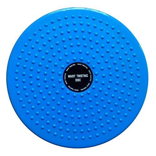 Waist Twisting Disc Figure Trimmer Fitness Board-(Blue) - 2